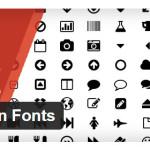Что нового WordPress 3.8? Dashicons иконки заменяют привычные картинки