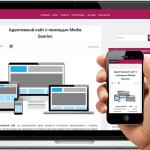 Мобильное меню для сайта — плагин WordPress