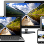 Адаптивное изображение на сайт с помощью HTML5