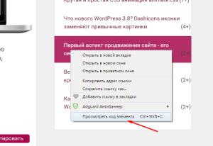 Проверка ссылки на индексацию - внешние ссылки. Drogin.ru