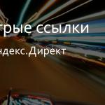 Быстрые ссылки Яндекс.Директ