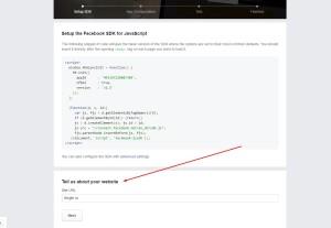 Получение APP ID для Facebook. Drogin.ru