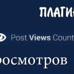 Счётчик просмотров публикации — Post Views Counter