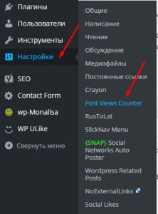 Post Views Counter - плагин на WordPress. Drogin.ru