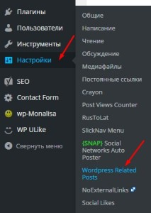 Related Posts - плагин для WordPress. Drogin.ru