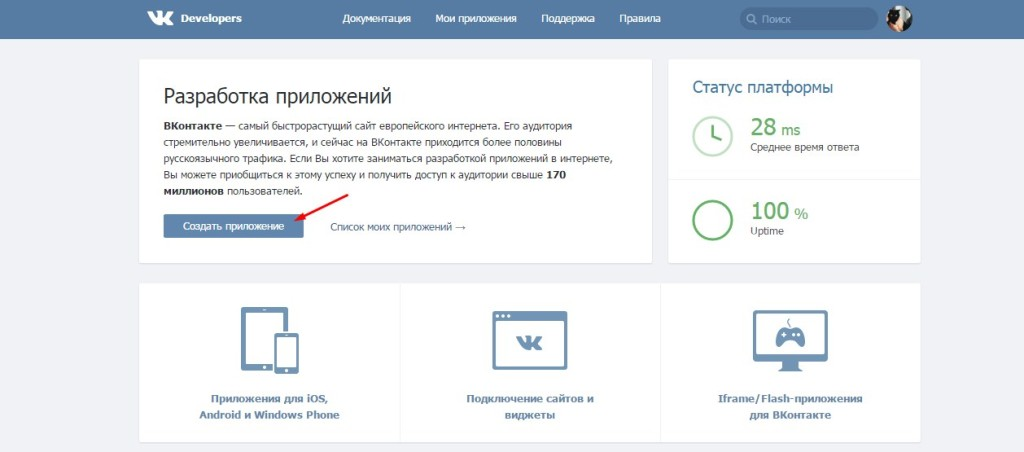 Создание VK API ID - как получить VK KEY для плагина WordPress