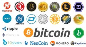 Криптовалюты лого