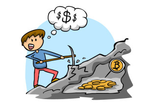 Добыча криптовалюты
