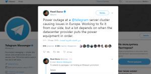 Telegram начал оживать : комментарии Павла Дурова