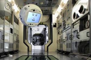 Робот CIMON отправился в космос