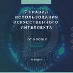 7 обязательных правил использования искусственного интеллекта от Google