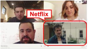 Расширение для Google Chrome, имитирующее групповой рабочий видеочат